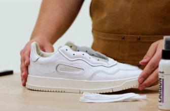 Как отбелить кроссовки белые
